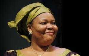 Leymah Gbowee es una trabajadora social liberiana. Encabezó las protestas femeninas contra la violencia en Liberia. En 2011, fue galardonada con el Premio Nobel de la Paz. / Foto tomada de TV5 Specials,-