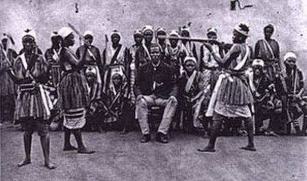 Las amazonas del Reino de Dahomey /Wikimedia Commons.-