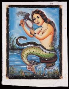 Pintura de Abdal (República Democrática del Congo, 1989).