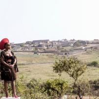 'Amanza Mtoti', Sethembile Msezane (2016).