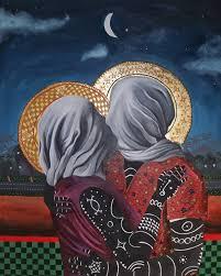 The kiss', Kelechi Nwaneri (2020).