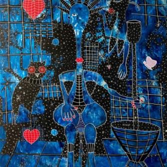 Biiga Bleue', Henri Abraham Univers (2020).